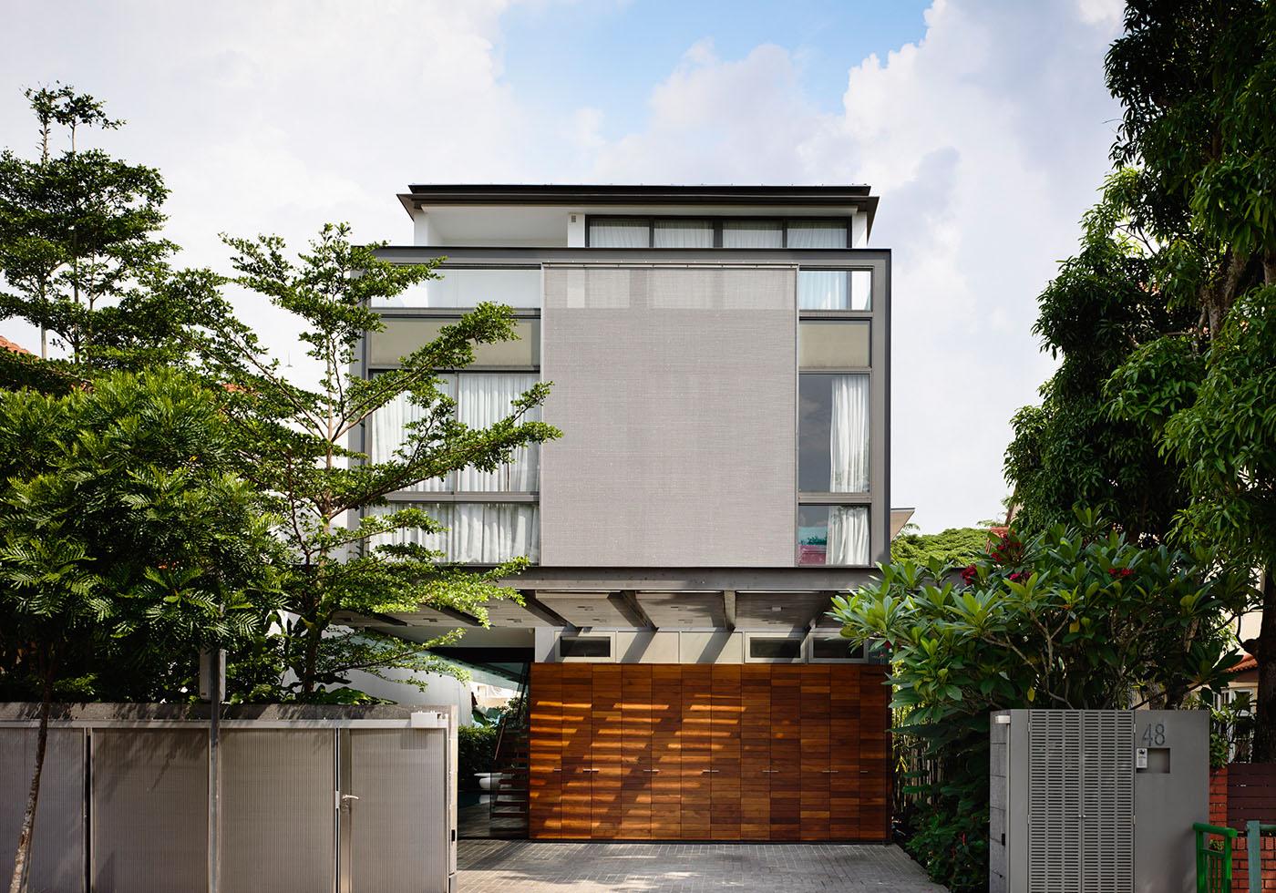 Discreetly Detached Hyla Architects Award Winning Singapore