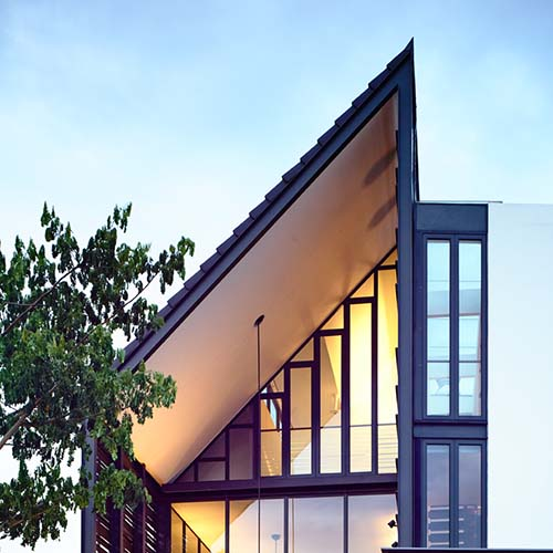 Lines of light hyla architects award winning singapore for Award winning architects